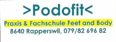 >Podofit Praxis< & >Fachschule Feet and Body<
